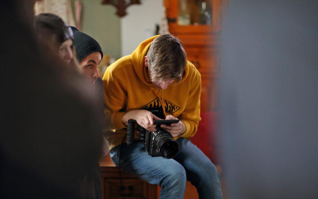 Nastavování kamery na place